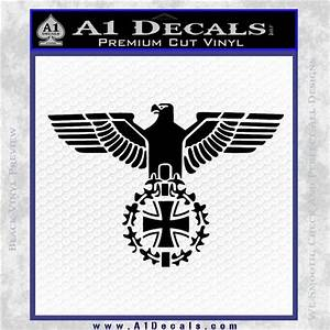 German Army WW2 Iron Cross Eagle Decal Sticker » A1 Decals