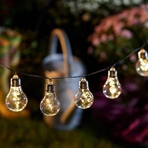 solar lichterkette gluhbirne klar preiswert danisches With feuerstelle garten mit solar lichterkette balkon
