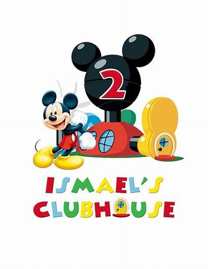 Mickey Mouse Birthday Clipart Cake Printable Iron