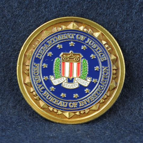 fbi bureau federal bureau of investigation fbi challengecoins ca