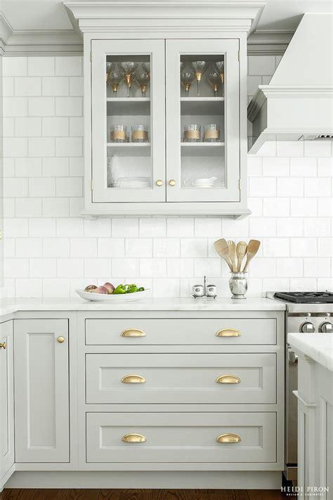 light grey kitchen cabinets with gold hardware soft gray warm brass kitchen ideas grey kitchen