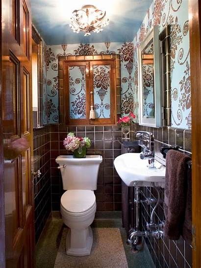 Bathroom Brown Decorating Mashoid Tiles