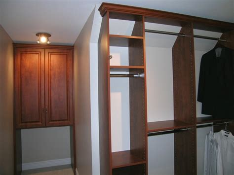 slanted ceiling traditional closet chicago by