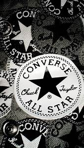 Black & white #Converse wallpaper for iPhone 5. #Sneakers ...