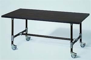 Tisch Rollen Klappbar : lambert tisch industrie 220 x 90 cm ~ Markanthonyermac.com Haus und Dekorationen