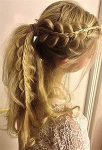 19 Pretty Ways to Try French Braid Ponytails - Pretty Designs
