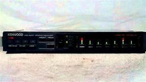 Vintage Kenwood Kgc-9400 Spectrum Analyzer Eq