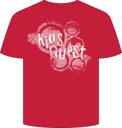 tshirt design new quest t shirt design childrens ministry