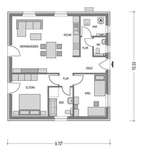 Grundriss Kleiner Bungalow by Bungalow Country C1 Heinz Heiden Wohnen Haus