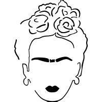 Baby Frida Kahlo Svg Free
