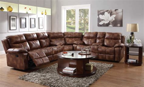 microfiber sectional recliner sofa sectional recliner sofas microfiber cleanupflorida com