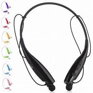 Bluetooth Wireless Headset Stereo Headphone Earphone Sport ...