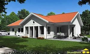 Schwedenhaus Fertighaus Bungalow : skandihaus haustyp 122 schwedenhaus skandihaus das holzhaus aus schweden ~ Frokenaadalensverden.com Haus und Dekorationen