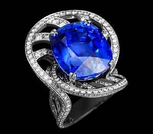 Pierres Précieuses Bleues : le diamant bleu une pierre pr cieuse bleue made in ~ Nature-et-papiers.com Idées de Décoration