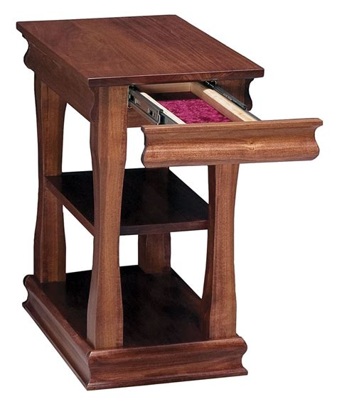 narrow end tables contemporary style living room with parrot narrow end