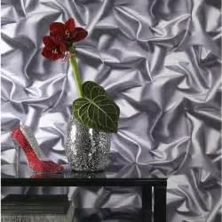 Papier Peint Effet Trompe L Oeil Leroy Merlin by Papier Peint Trompe L Oeil Tissu Froiss 233 Gris