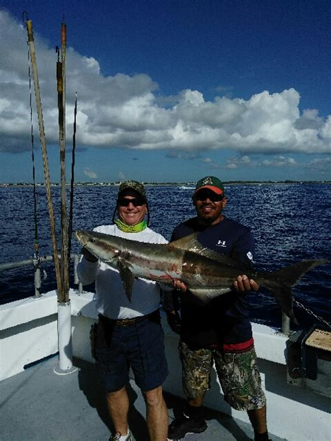 spring cobia bar jack fishing and the lady k deep sea