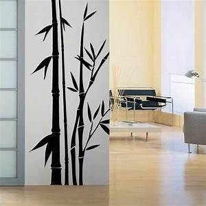 Wall decal bamboo by artollo for Bamboo wall art