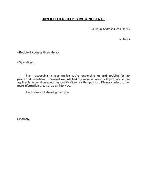 email resume cover letter template learnhowtoloseweight net