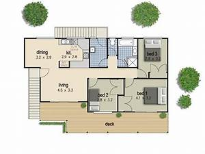 simple 3 bedroom house floor plans 3 bedroom house plans With three bed room house plan