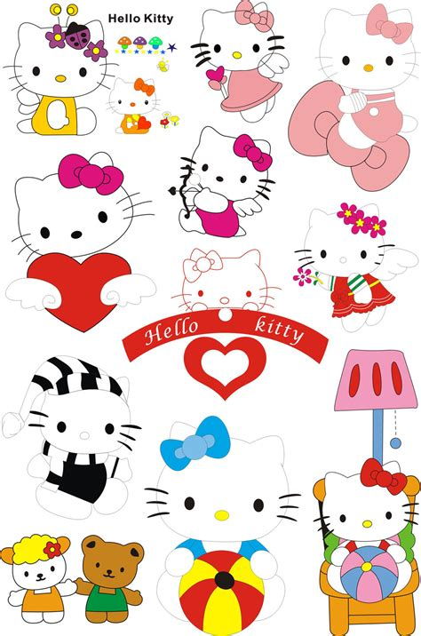 New Hello Kitty Stickers Suitcase Fridge And 50 Similar Items