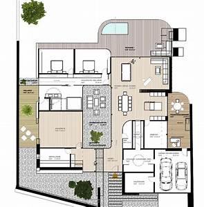 Grundriss Villa Modern : die besten 10 bilder zu luxush user moderne architektur ~ Lizthompson.info Haus und Dekorationen