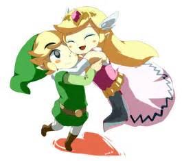 Princess Zelda and Toon Link
