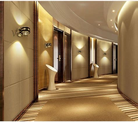 wall lamp led modern indoor hotel decoration