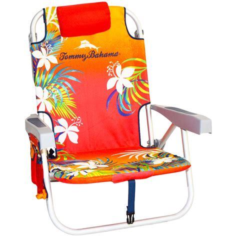 bahama backpack chair orange orange print bahama backpack cooler chair ebay