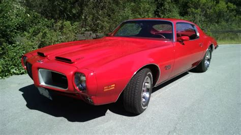 1970 Pontiac Firebird (red/red