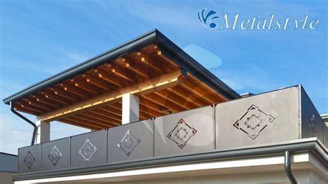 altezza ringhiera balcone balcone parapetti 58 metalstyle