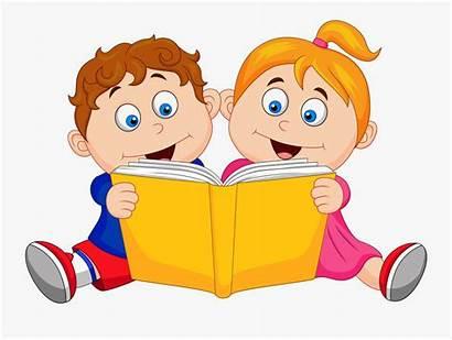 Clipart Reading Children Boy Ampersand Transparent Clipartkey