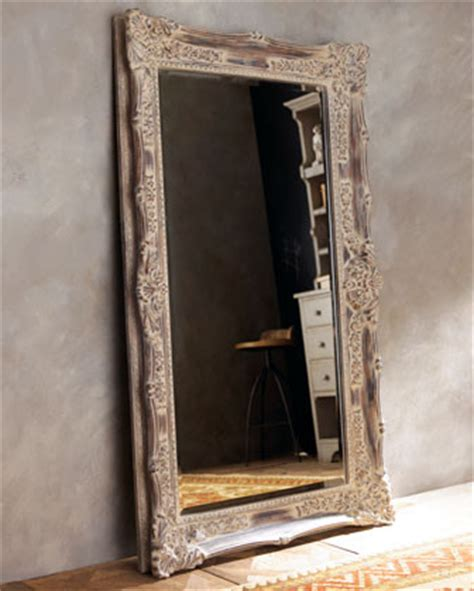 floor mirror antique antique french floor mirror traditional mirrors by horchow