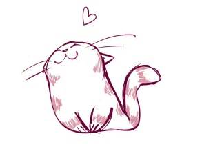 cat drawing easy simple cat drawing clipart best