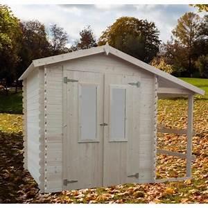Abri De Jardin Avec Bucher : abri de jardin en bois avec bucher 6m2 eldorado bouvara ~ Dailycaller-alerts.com Idées de Décoration