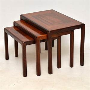 1960, U2019s, Danish, Rosewood, Nest, Of, Tables