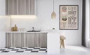 Küche Retro Stil : poster k che gr e der wand ~ Watch28wear.com Haus und Dekorationen