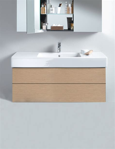 Kitchen Single Bowl Sink by Duravit Delos 470 X 1000mm 2 Drawer Vanity Unit With