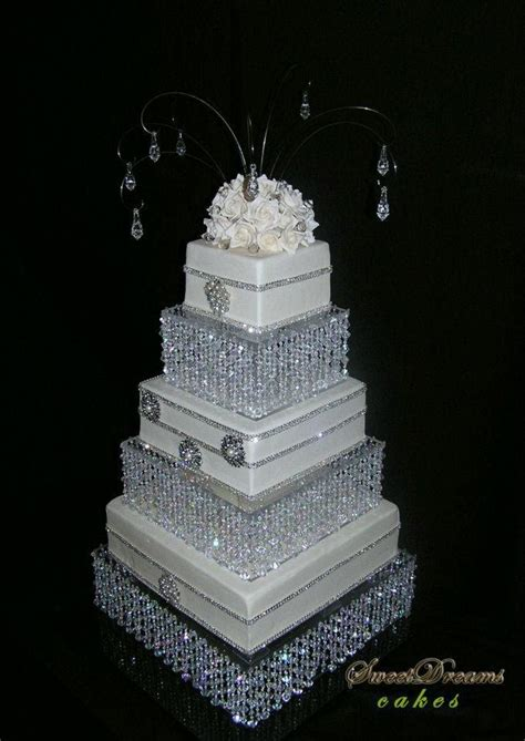 bling wedding cakes diy wedding cake stand cake stand chandelier