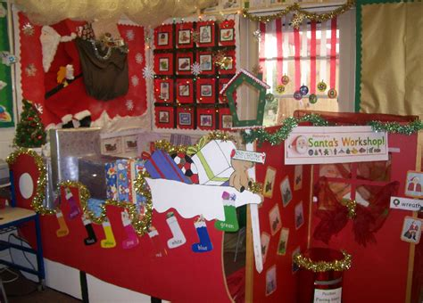 santas workshop classroom display photo photo gallery
