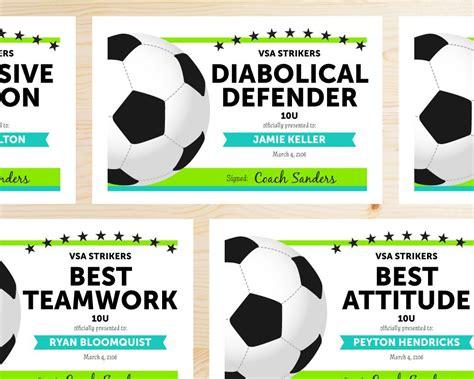 soccer award categories soccer moms team player
