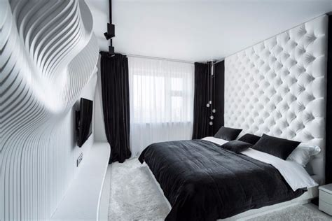 Bedroom Design Ideas Black And White by Sleek And Modern Black And White Bedroom Ideas Master