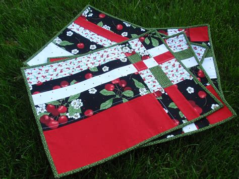 quilted placemats patterns take four placemat pattern review placemat patterns