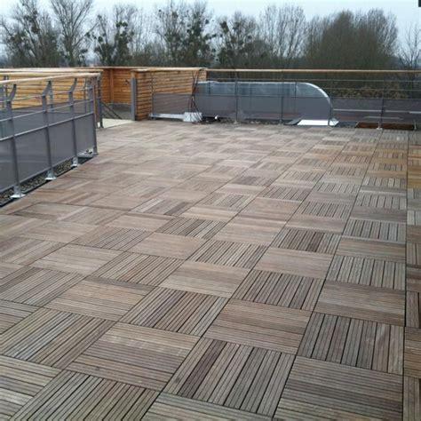 toiture terrasse bois accessible wraste