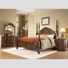 Prenzo Traditional Design Poster Bedroom Furniture Set