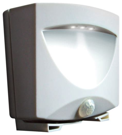 battery operated outdoor led lights white battery powered 3 light led outdoor night light