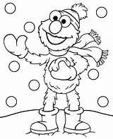 Coloring Winter Elmo Pages Printable Snow Topcoloringpages Sheet Freedom Funny Sesame Street Children Spokesperson Pdf Adults sketch template