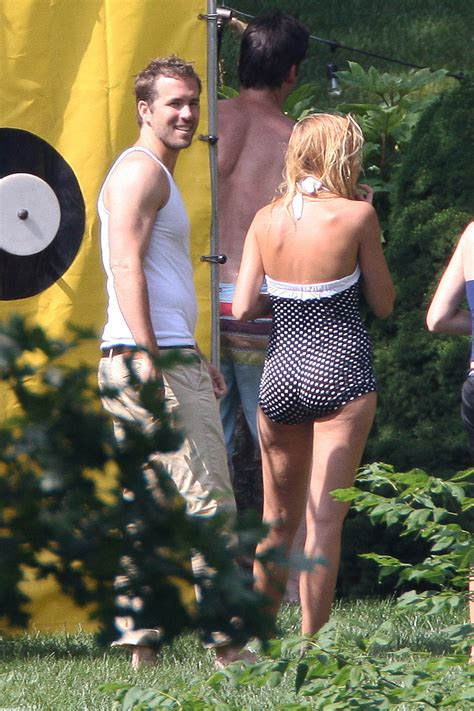 paul dano swimsuit blake lively wore a polka dot swimsuit to celebrate the