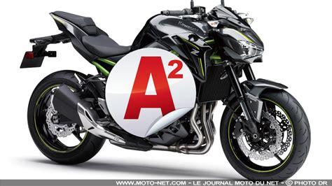 moto a2 2018 nouveaut 233 s kawasaki z900 accessible aux permis a2 en 2018