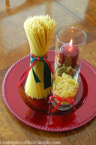 italian christmas table decorations italian centerpieces italian pasta for the family dinner